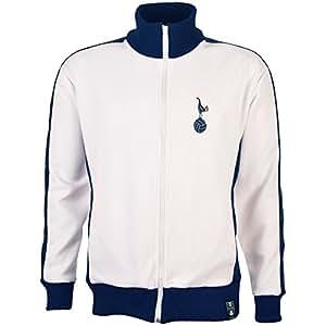 "TOFFS Tottenham Hotspur Home Retro Track Top (Small - 36-38"")"