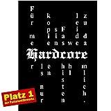 Hardcore / Faschisten zu dämlich - Poster