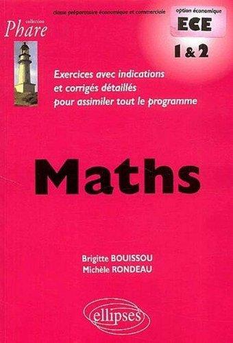 Mathématiques ECE : 1re année et 2e année