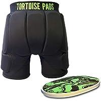 Tortoise Pads T2 Pantalones Cortos Acolchados con Protección de Alto Impacto (Adult Small)