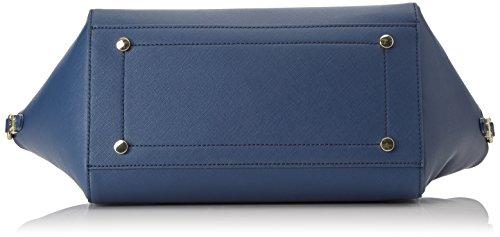 Trussardi Jeans 75b00014-1y090122, Borsa a Mano Donna, 50 x 39 x 17 cm (W x H x L) Blu