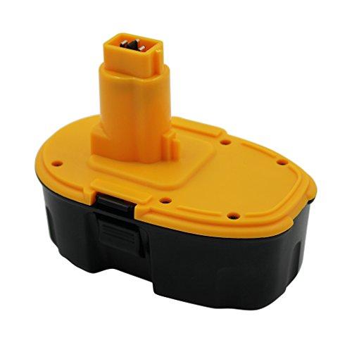 KINSUN Reemplazo Herramienta Eléctrica Batería 18V 2.0Ah Para Dewalt Taladro Inalambrico Destornillador DC9096 DE9039 DE9095 DE9096 DE9098 DE9503 DW9095 DW9096 DW9098 DC618 DC988KB