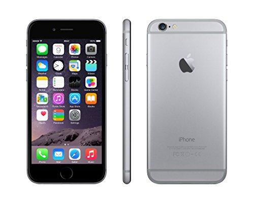 Apple iPhone 6  Smartphone iOS  pantalla 4 7   c  mara 8 Mp  16 GB  Dual-Core 1 4 GHz  1 GB RAM   Gris  Space Gray