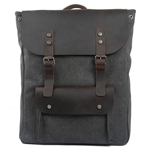 Lixmee - Borsa a Zainetto donna _02 Dark Grey