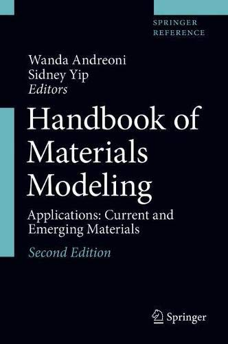 Handbook of Materials Modeling: Applications: Current and Emerging Materials