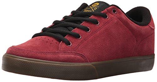 C1RCA Al50, Scarpe da Skateboard Uomo, Rosso (Brick/Black/Gum 006), 40.5 EU
