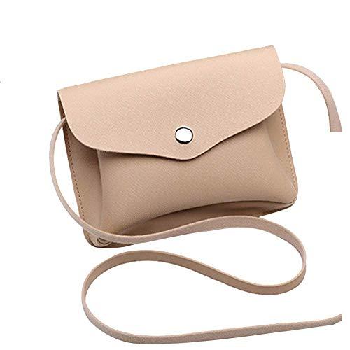 Bobopai Fashion Women Girl Vintage Leather Purse Crocodile Pattern Mini Handbag Phone Bag (Beige ) -