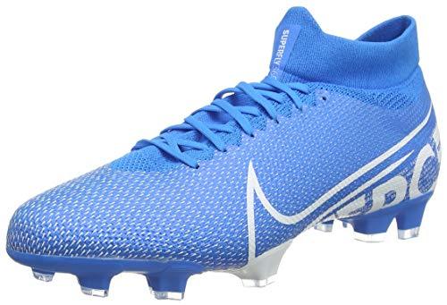 Nike Herren Superfly 7 PRO FG Fußballschuhe, Blau (Blue Hero/White-Obsidian 414), 42 EU