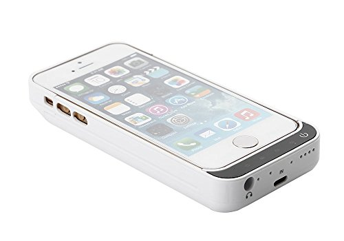 Mbuynow Cover Carica Batteria per iPhone 5 5S 5C SE
