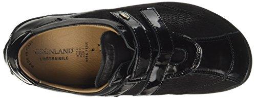 GRÜNLAND Sc3469, Sneaker a Collo Basso Donna Nero