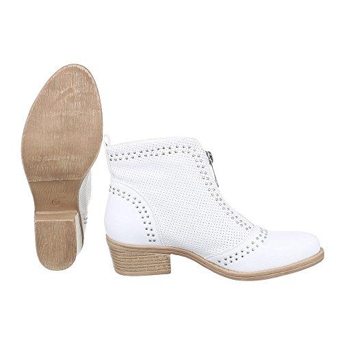 Ital-Design - Low-top Donna , bianco (bianco), 41