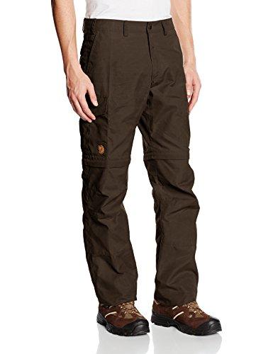 Zip-off Regenhose (Fjällräven Herren Hose Karl Zip Off Trousers, Dark Olive (633), 50)