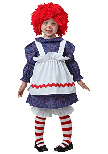 Toddler Little Rag Doll Fancy Dress Costume 12 Months