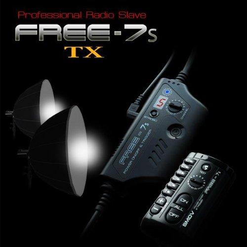 Radio Slave-transmitter (SMDV Free7s-TX Transmitter mit Selektive Zone Triggerung für Radio Sklave System Auslöser (2,4Ghz))