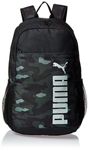 PUMA Unisex- Erwachsene Style Backpack Rucksack, Black-Camo AOP, OSFA
