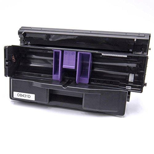 vhbw Trommeleinheit Bild-Trommel schwarz für Laser-Drucker Oki B411 D, B411 DN, B412 DN, B431 D, B431 DN, B431 DN Plus, B432 DN, B512 DN -