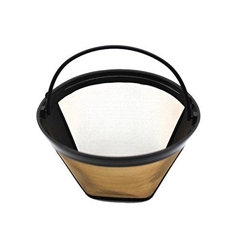 Waroomss Kaffeefilter, 304 Edelstahl-Kaffeefilter, Kaffeemaschine Spezialfilter-Ersatz für...