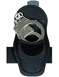 Mil-Tec Security - Funda de esposas para cinturón, color negro