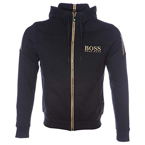 BOSS Herren Sweatjacke Saggy schwarz (15) XL