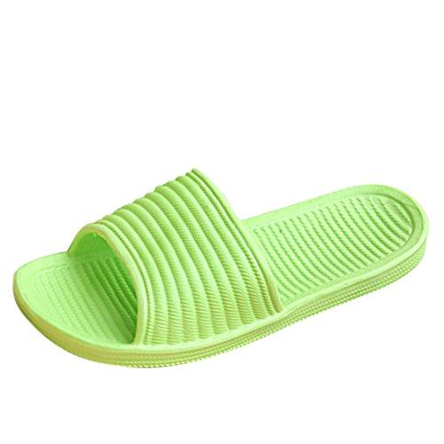 Grün Dusch Badeschuhe rutsch Hausschuhe Unisex amp; erwachsene Badezimmer Qianle Anti 36 zfxCwgn7q