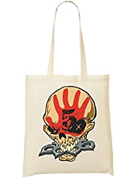 Five Finger Death Punch Skull Cool Bolso De Mano Bolsa De La Compra