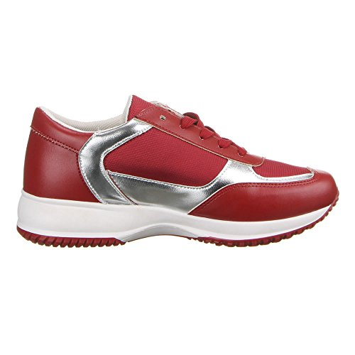 Ital - 22–149, chaussures Rouge - Rouge