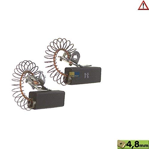 Kohlen Motorkohle 10x6,4x28mm 4,8AMP Waschmaschine Wasch-Trockner Miele 3320630