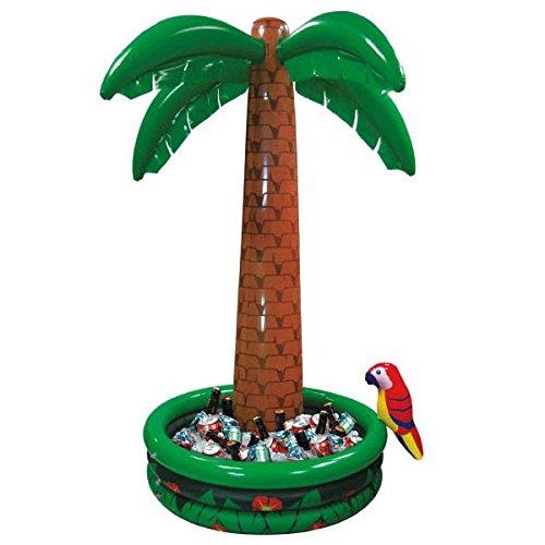 Preisvergleich Produktbild Aufblasbarer Flaschenkühler PARTY PALM - Die Fun-Palme