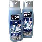 Alberto Vo5 2 in 1 Moisturizing Shampoo + Conditioner (2 Pack of 12.5 Fl Oz Bottles)