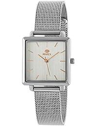 Reloj Marea Analógico Mujer Cuadrado B41247/1 Armis Milanesa Acero
