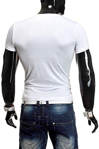 Herren T-Shirt Hot Ice ID1081 Weiß