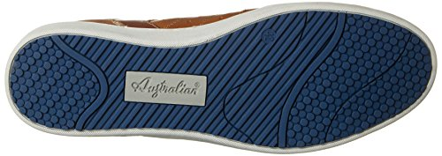 Australian Cavani Leather, Chaussures à Lacets Homme Beige (Tan-Blue)