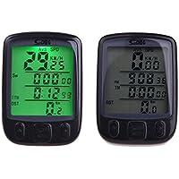 JSG Accessories® Digital Speedometer Odometer LCD Waterproof Bike Bicycle Cycling Computer Speedo Backlight by JSG Accessories
