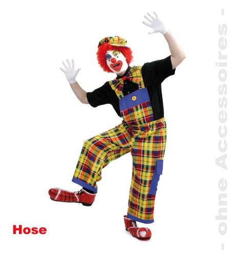 Latzhose Peppa, Clownshose, Größe XXL