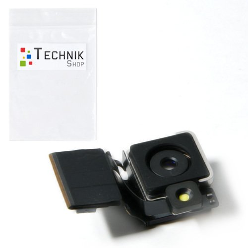 TechnikShop Kamera für iPhone 4S Foto Rückkamera LED Blitz (Cam 4s Iphone)