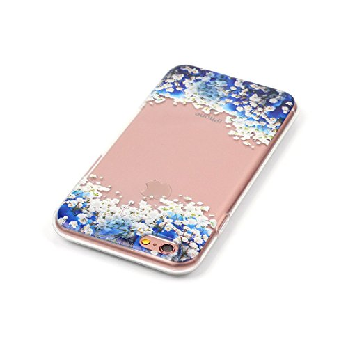 Yaking® Apple iPhone 6/6S Coque Silicone TPU Case Cover Gel Étui Housse pour Apple iPhone 6/6S P-6