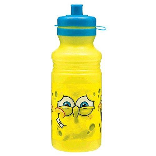 SpongeBob Classic Trinkflasche aus Kunststoff, Gelb