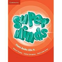 Super Minds Level 4 Class Audio CDs (4)