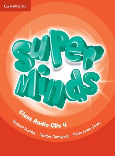 Super Minds Level 4 Class Audio CDs (4) - 9780521217514