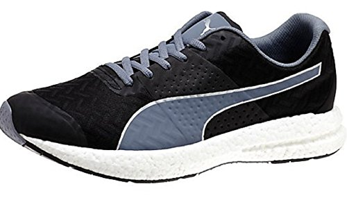 b9a0cc4591ef97 Puma Men Puma Men s Nrgy Black and Folkstone Gray Running Shoes - 7 UK India  ...