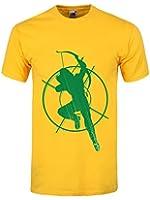 Men's Arrow Target T-shirt Yellow
