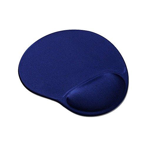 Speedlink Mauspad mit Gelfüllung - VELLU Gel-Mauspad Ergonomie (vermeidet Haltungsschäden - passt sich ideal an jedes Handgelenk an - ) PC / Computer Mousepad blau -