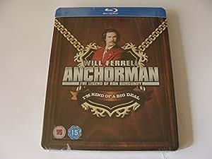 Anchorman (Blu-ray SteelBook) (Zavvi Exclusive)(WEA) [UK Import]