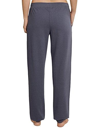 Schiesser -  Pantaloni  - Donna grigio blu