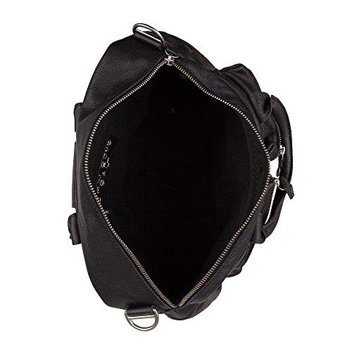 Cowboysbag - The Little Bag, Borsa A Tracolla, unisex Nero (nero)