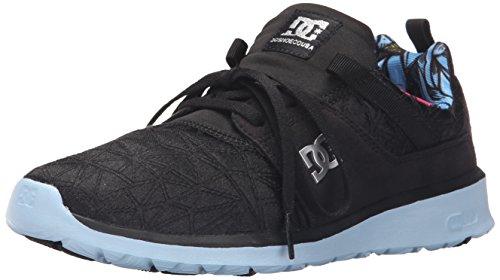 DC Shoes Heathrow X TR Femmes Toile Baskets Black Print