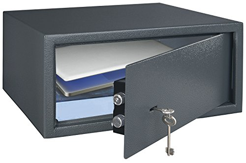 HomeDesignMailbox Stahl 104378hds-lap Laptop-Safe mit Schlüssel abschließbar