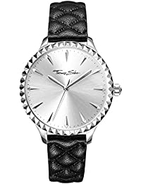 81185d4873f Thomas Sabo Womens Analogue Quartz Watch with Leather Strap WA0320-203 -201-38