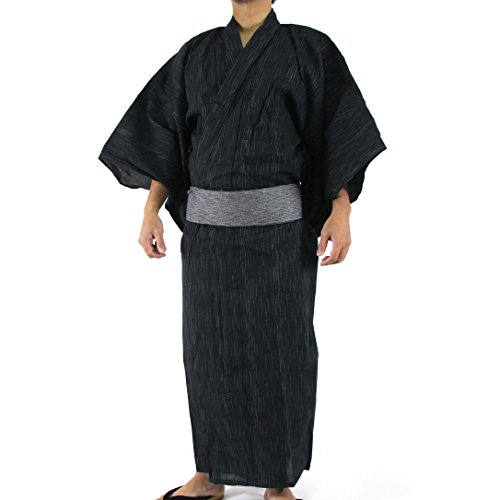 Edoten Yukata Men's Japan Shijira Yukata