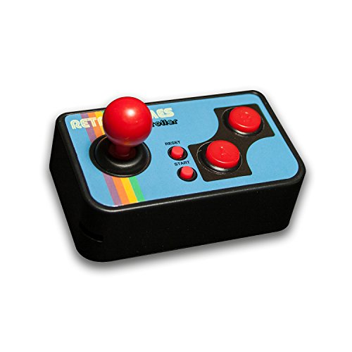 thumbs UP! Mini TV Games - inkl. 200 Retro Spielen - Retro, Vintage, Gaming, 80er, Videospiel - 0001357